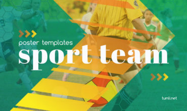 Sport Poster Templates & Free Sport Flyer Templates